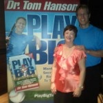 Kathy Perry with Dr. Tom Hanson at 'Play Big' Launch